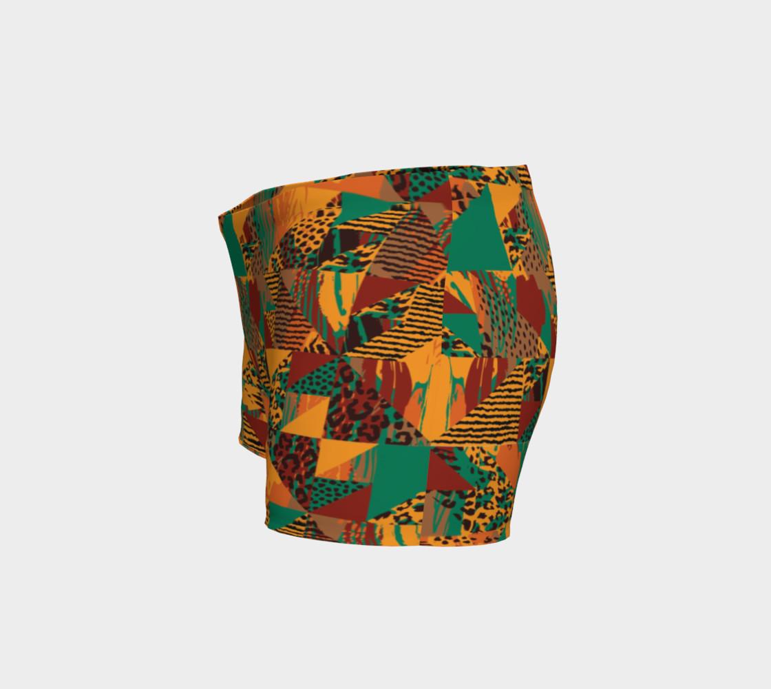 Abstract Safari Print Shorts preview #2