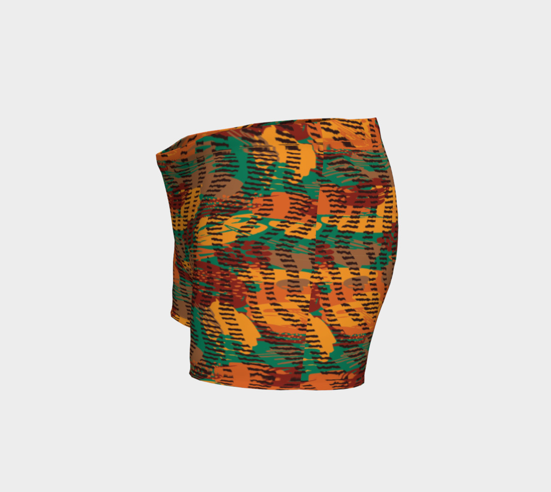 Abstract Animal Stripes Shorts preview #2