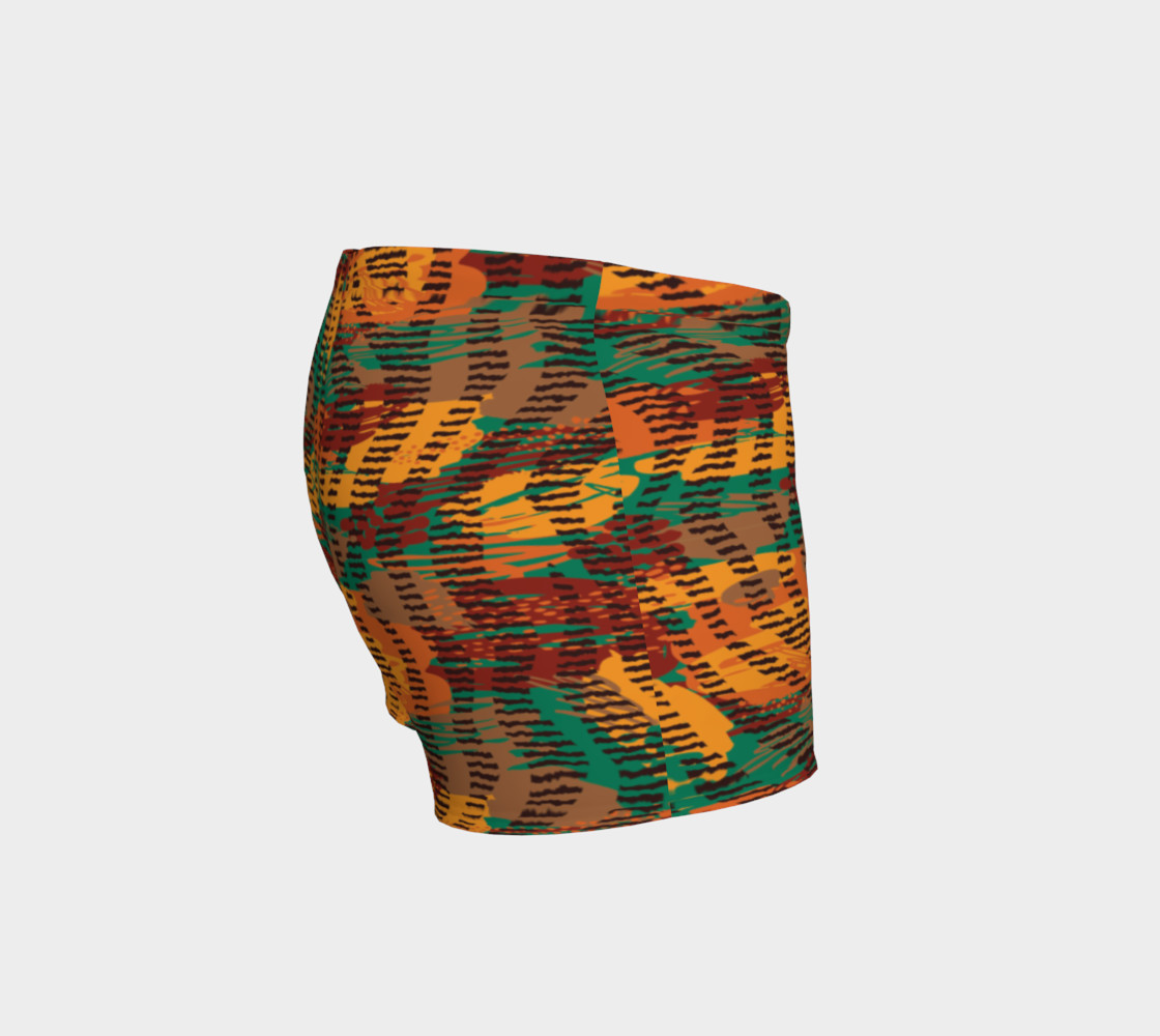 Abstract Animal Stripes Shorts preview #3