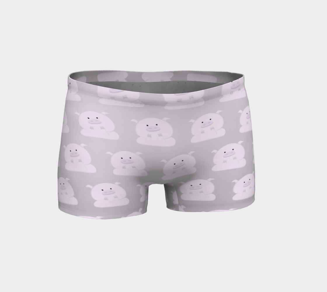 Pink Piggies on Grey preview #1