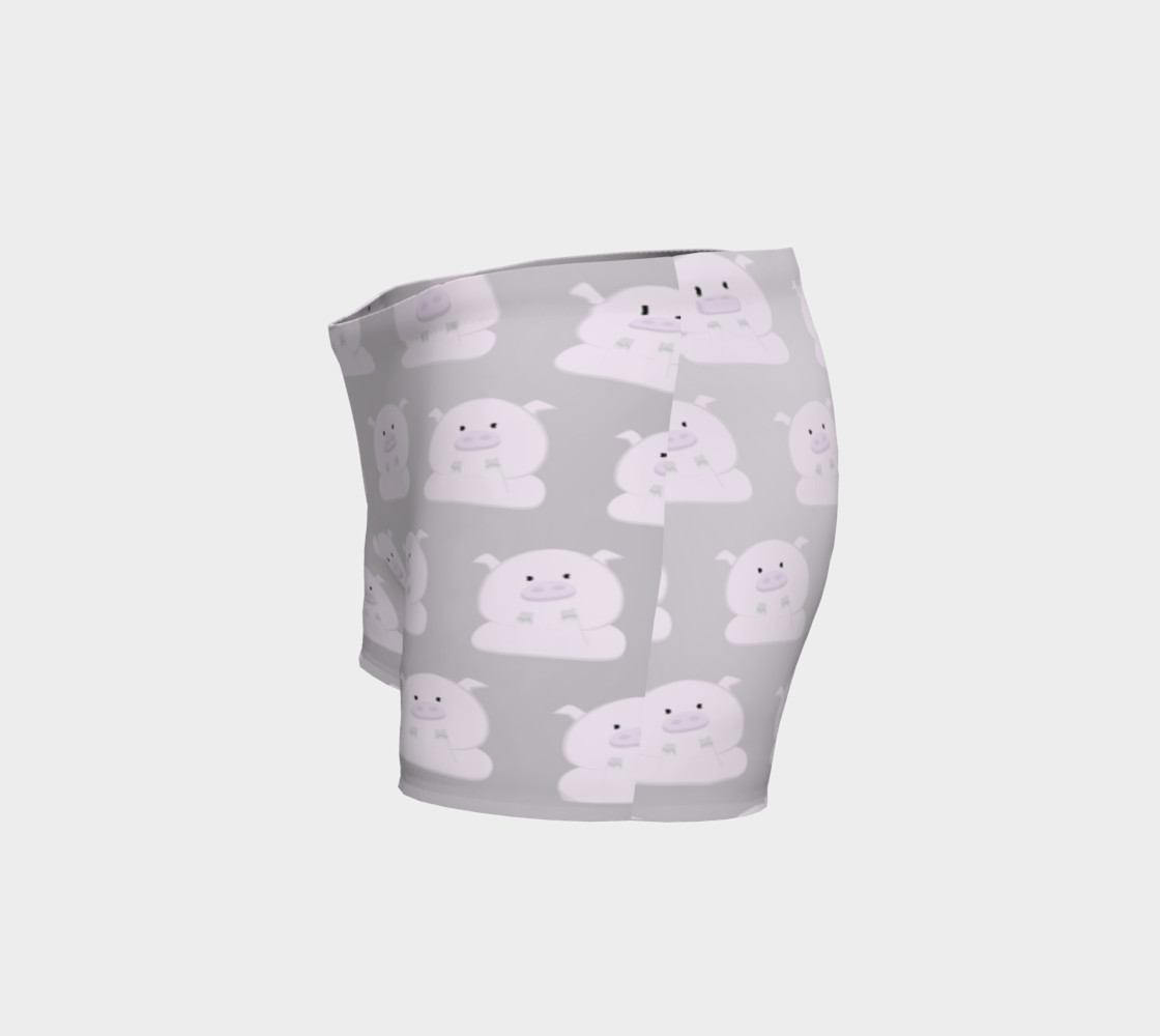 Pink Piggies on Grey preview #2