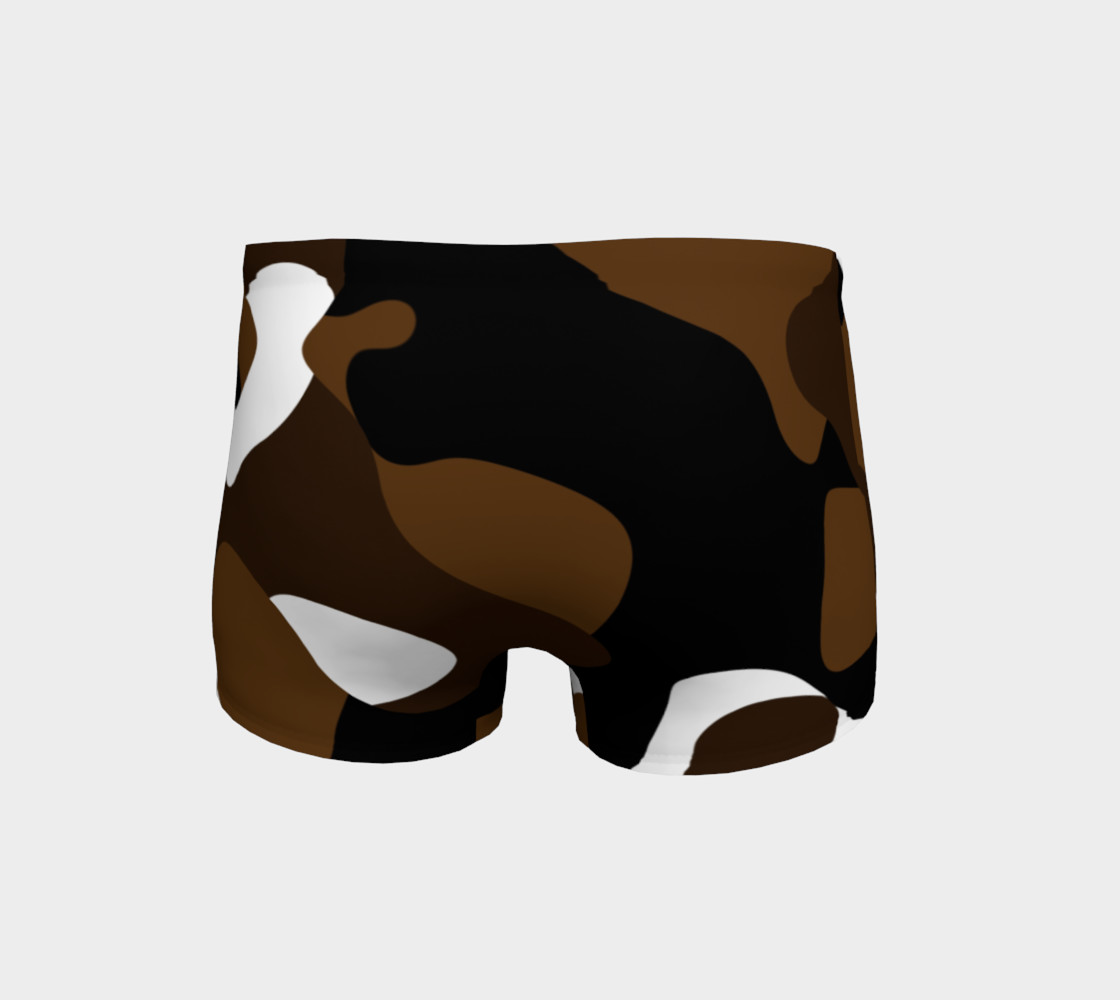 Brown White and black camo abstract preview #4
