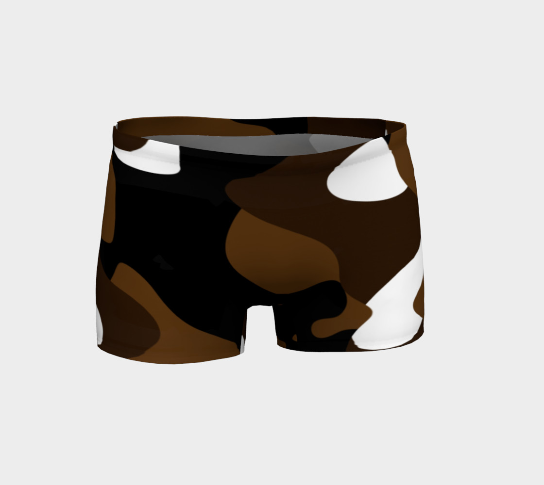 Brown White and black camo abstract preview #1