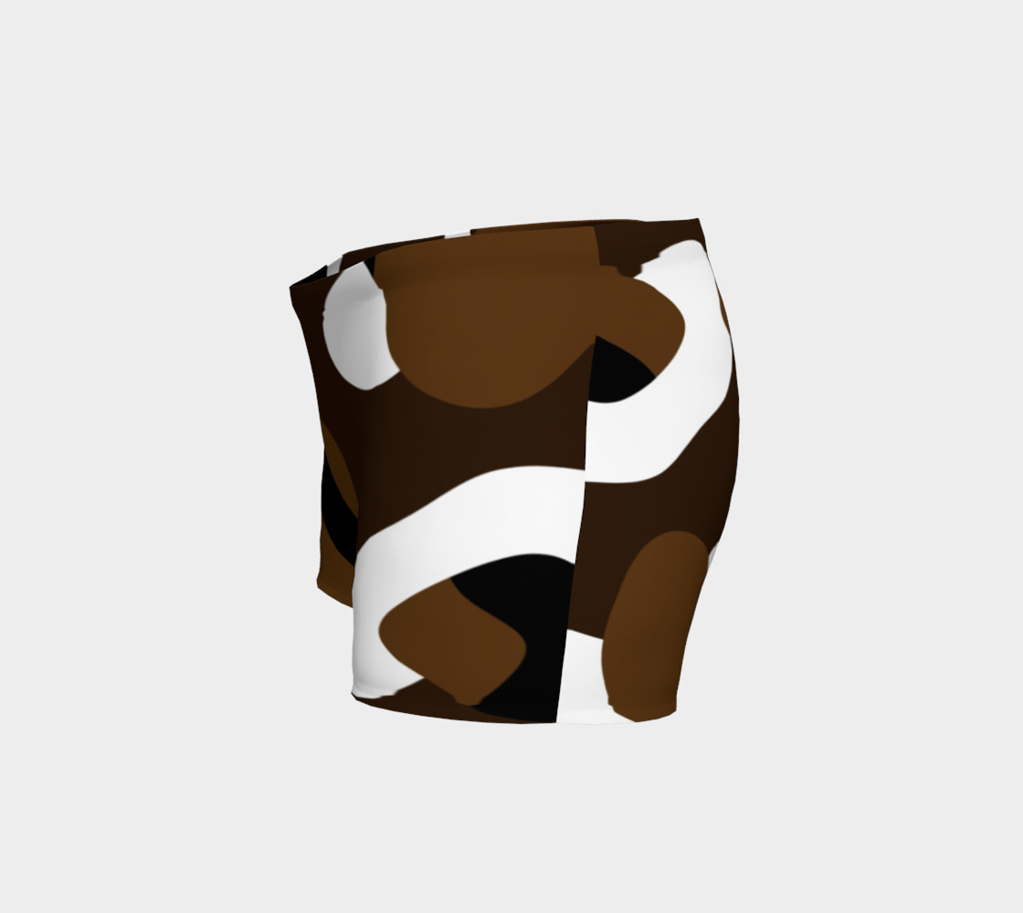 Brown White and black camo abstract preview #2