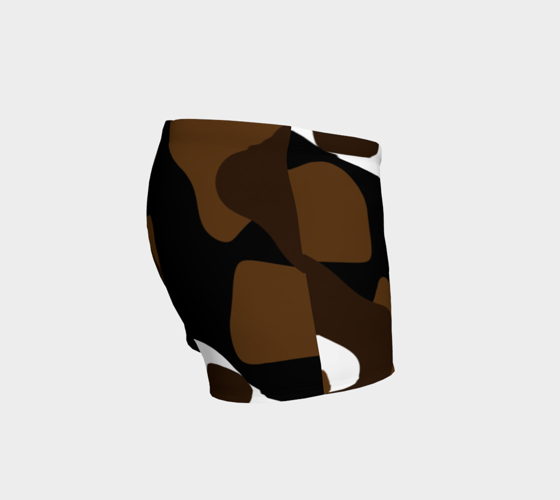 Brown White and black camo abstract preview #3