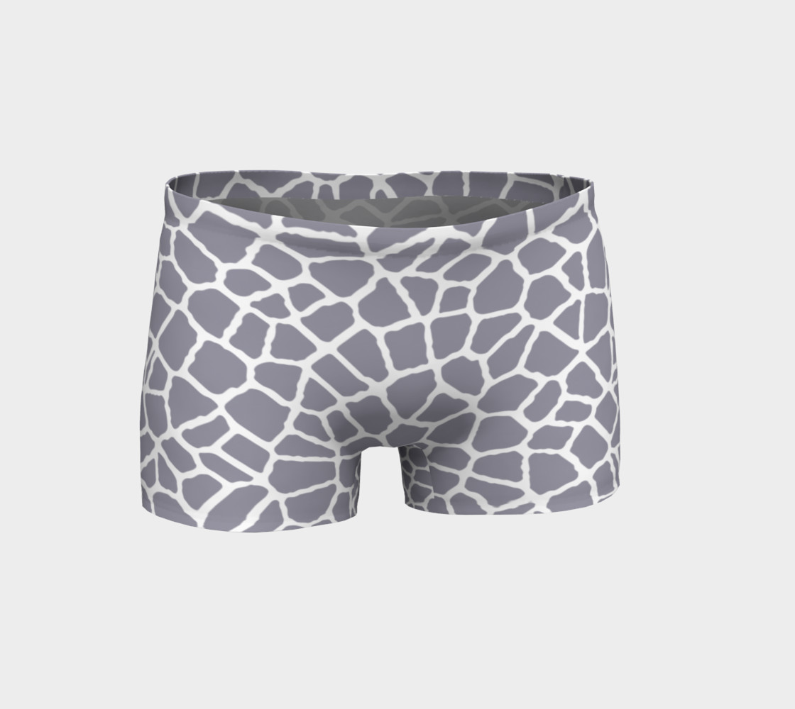 staklo (aqua/coffee) workout shorts preview #1