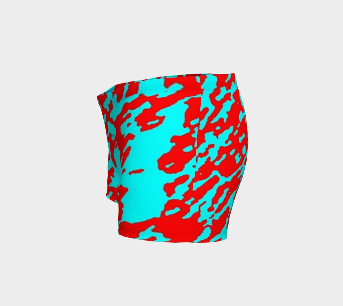 Abstracto rojo y azul preview #2