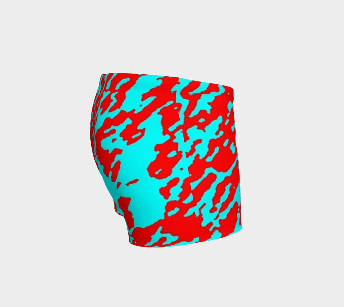 Abstracto rojo y azul preview #3