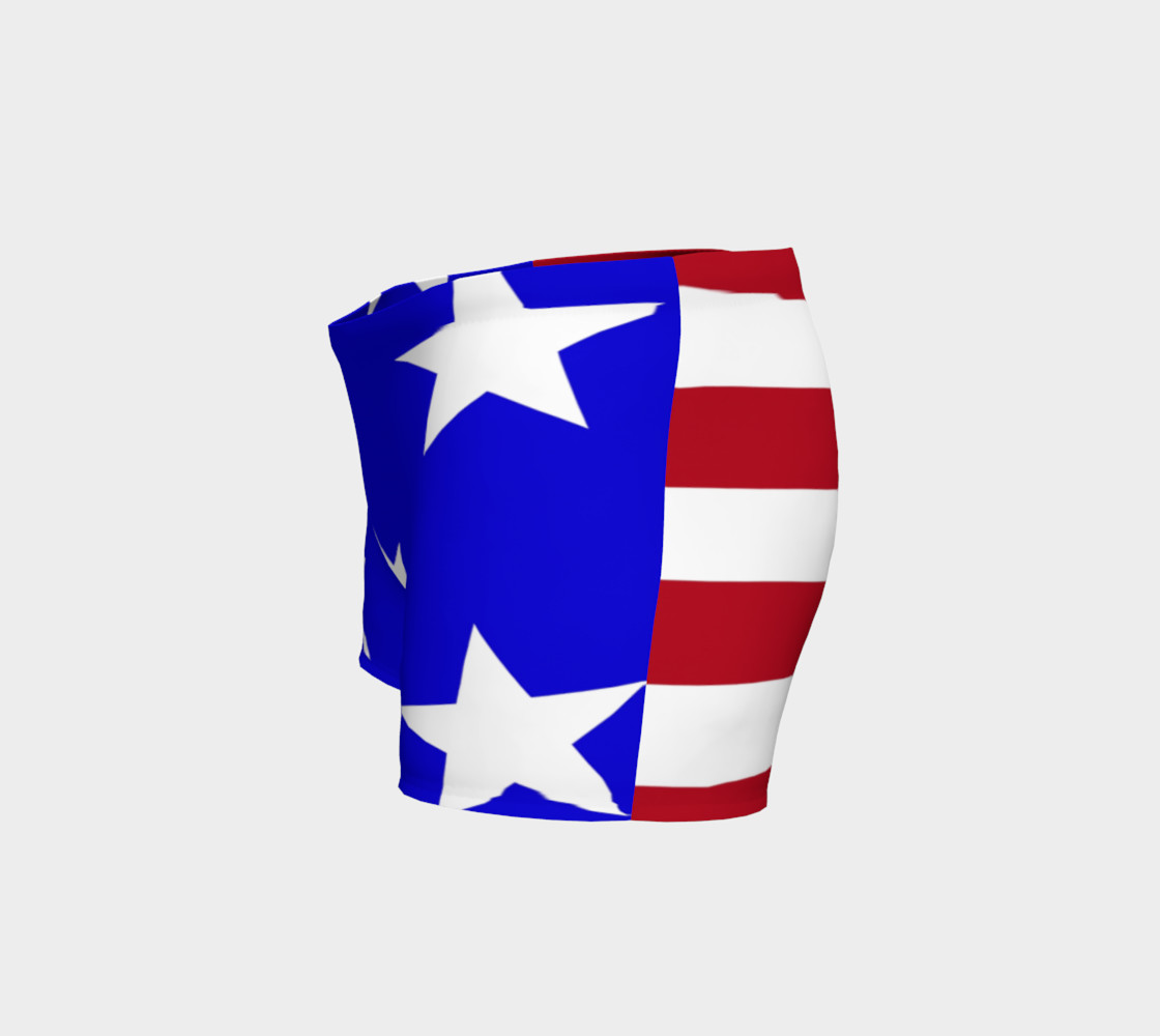 Stars and Stripes Gym Shorts Style2 preview #2