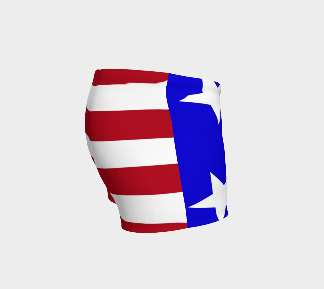 Stars and Stripes Gym Shorts Style2 Miniature #4