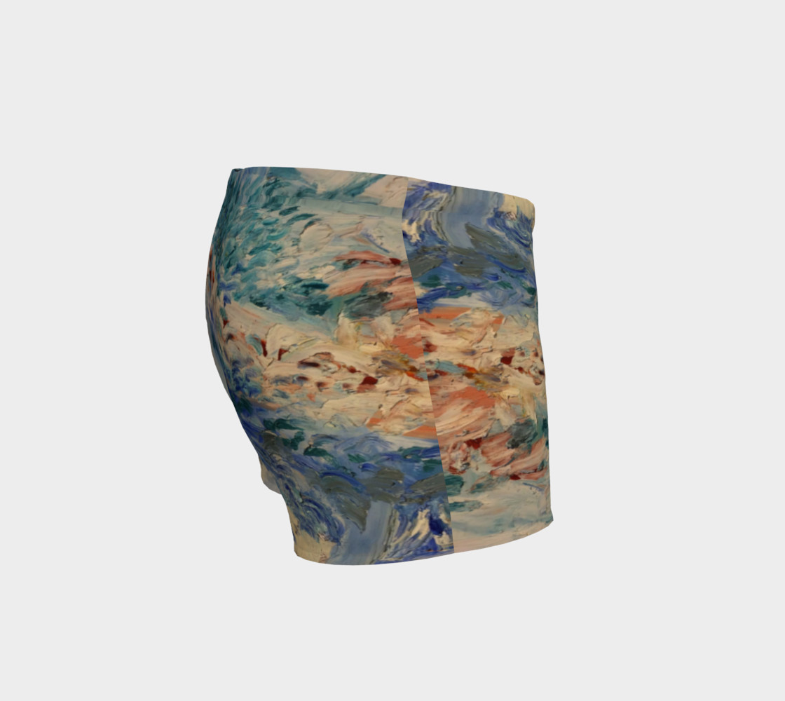 ocean swirl shorts preview #3