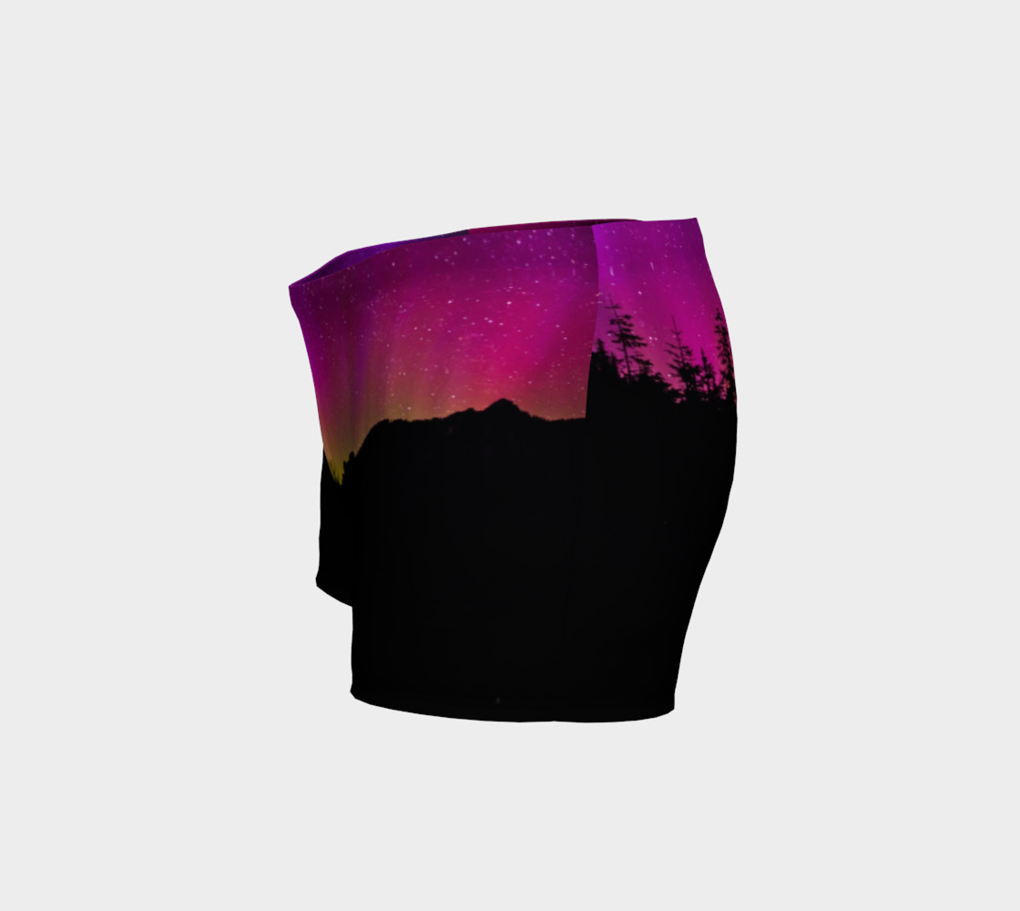 Fuschia Stars Northern Lights Shorts #2 preview #2