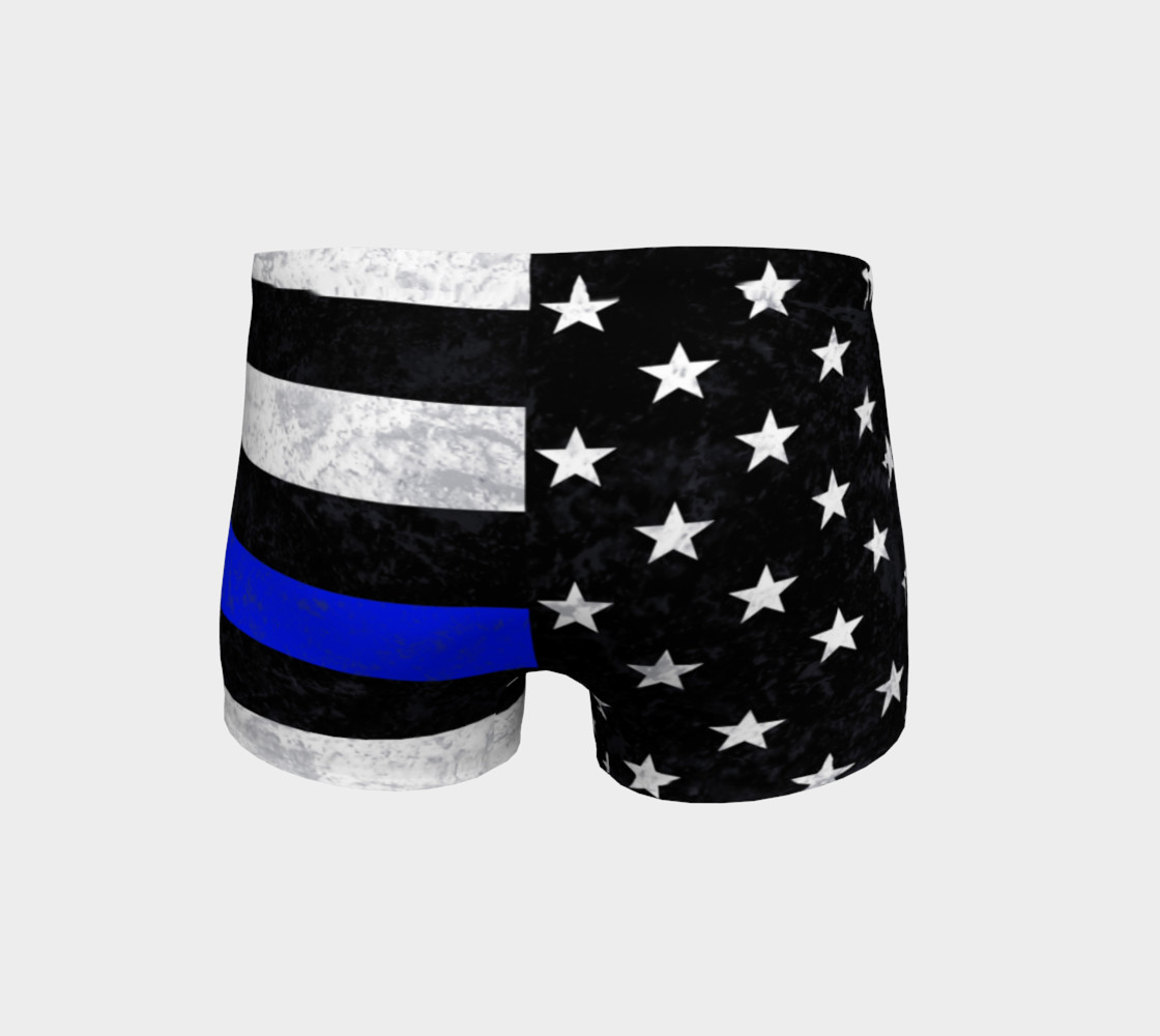 Thin Blue Line Shorts preview #4
