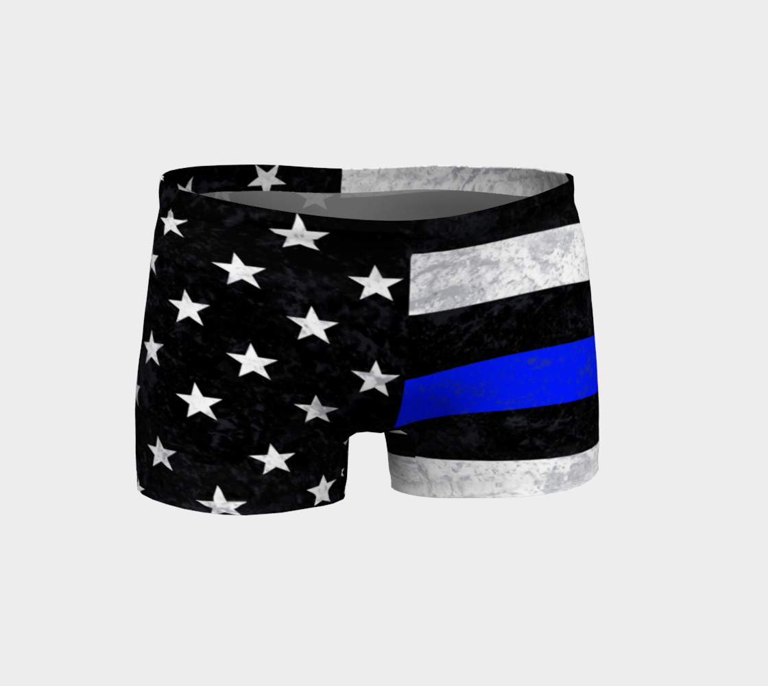Thin Blue Line Shorts preview #1