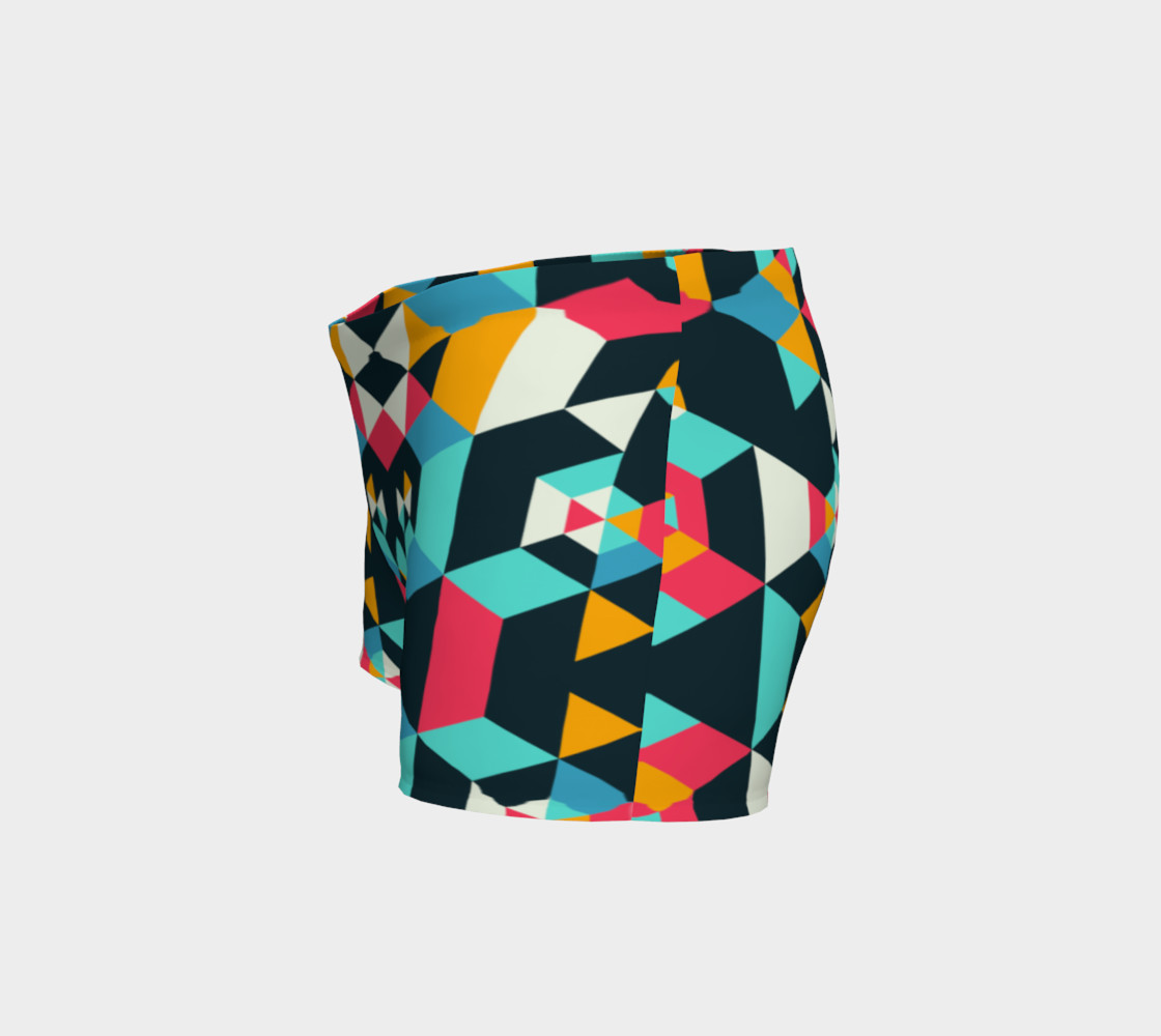 Modern Colorful Geometric Shorts preview #2
