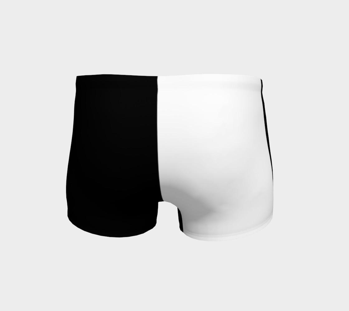 Aperçu de Black and White Ladies Shorts #4