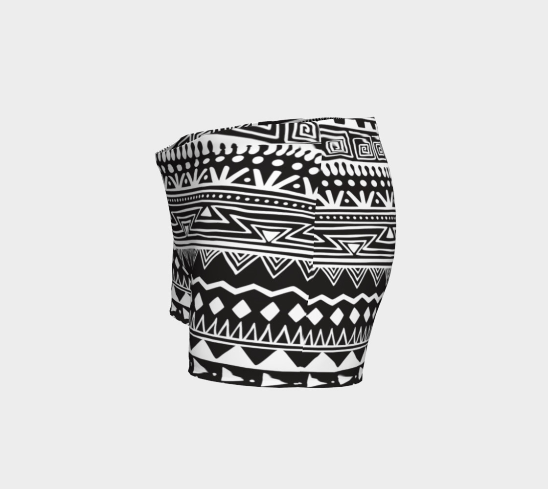 Aztec Print Shorts preview #2