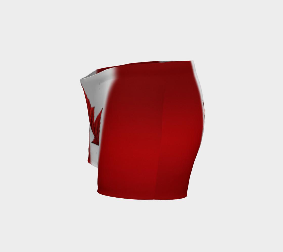 Canada Flag Shorts Canadian Souvenir Shorts preview #2