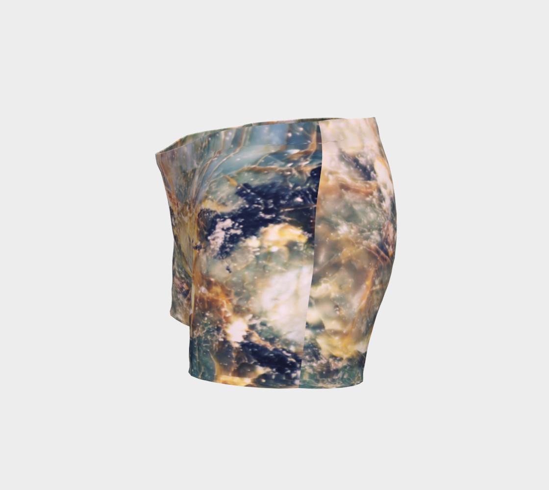 Aperçu de Steel Blue Jewel Tone Marble Pattern #2