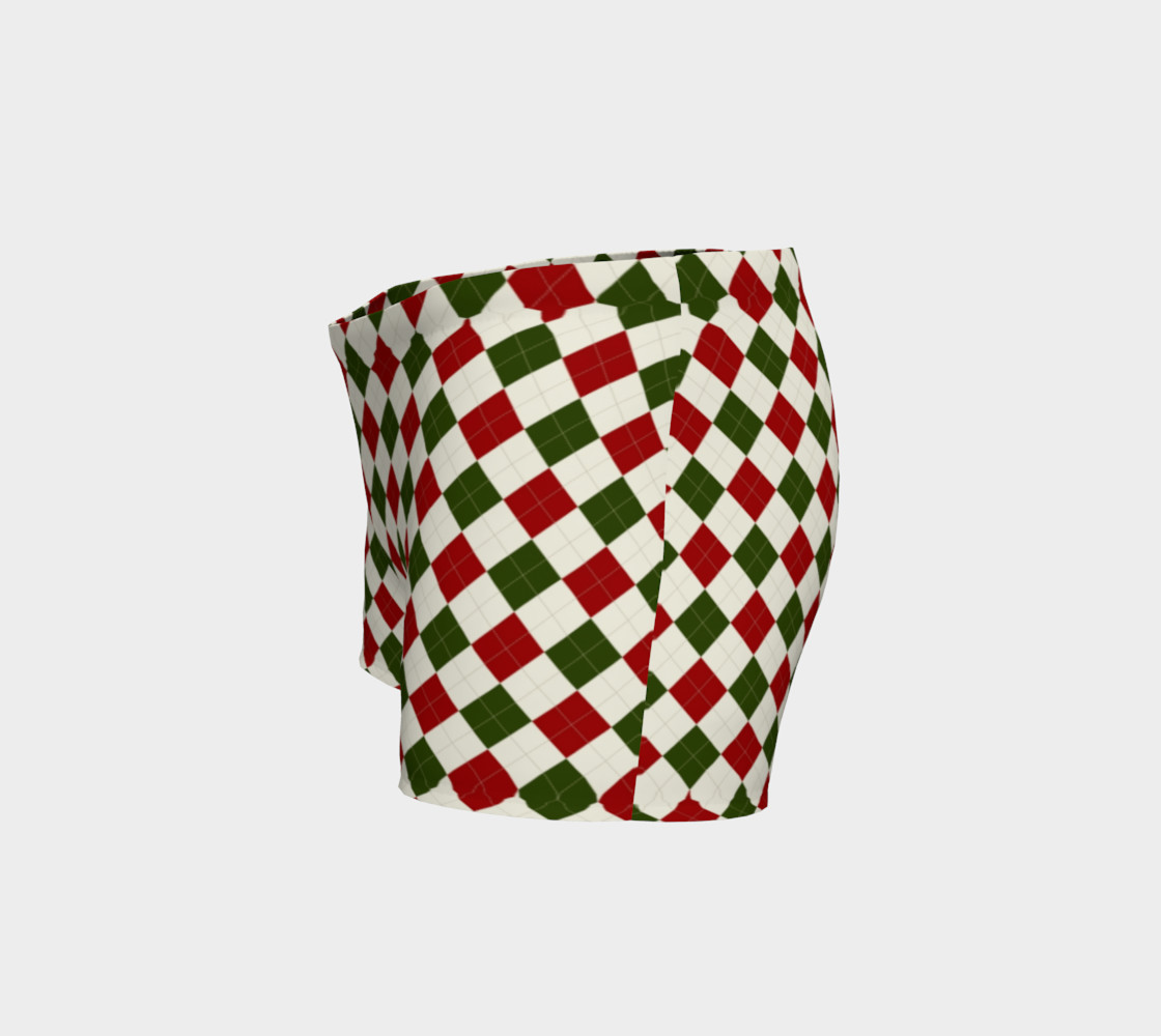 Christmas Argyle Shorts thumbnail #3