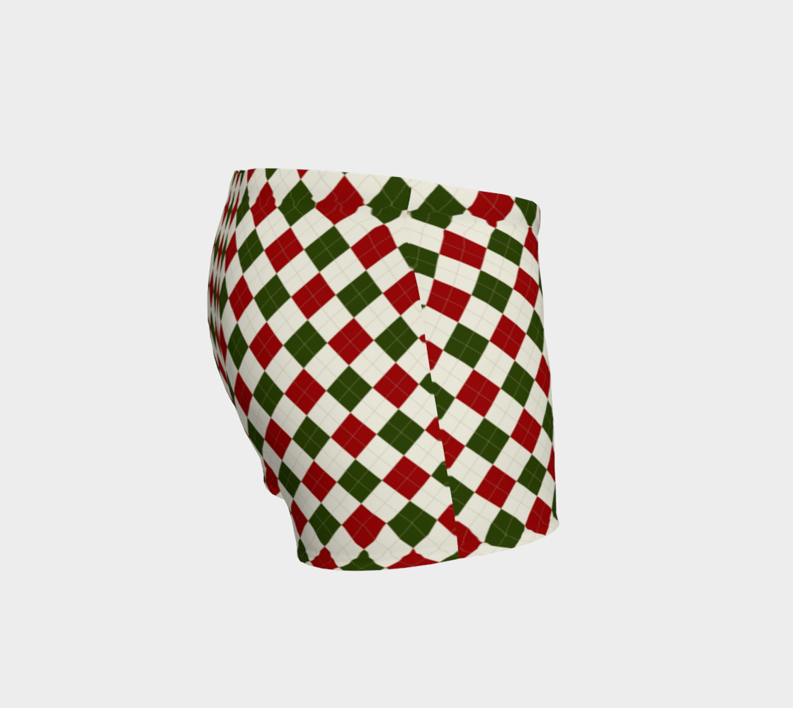 Christmas Argyle Shorts preview #3