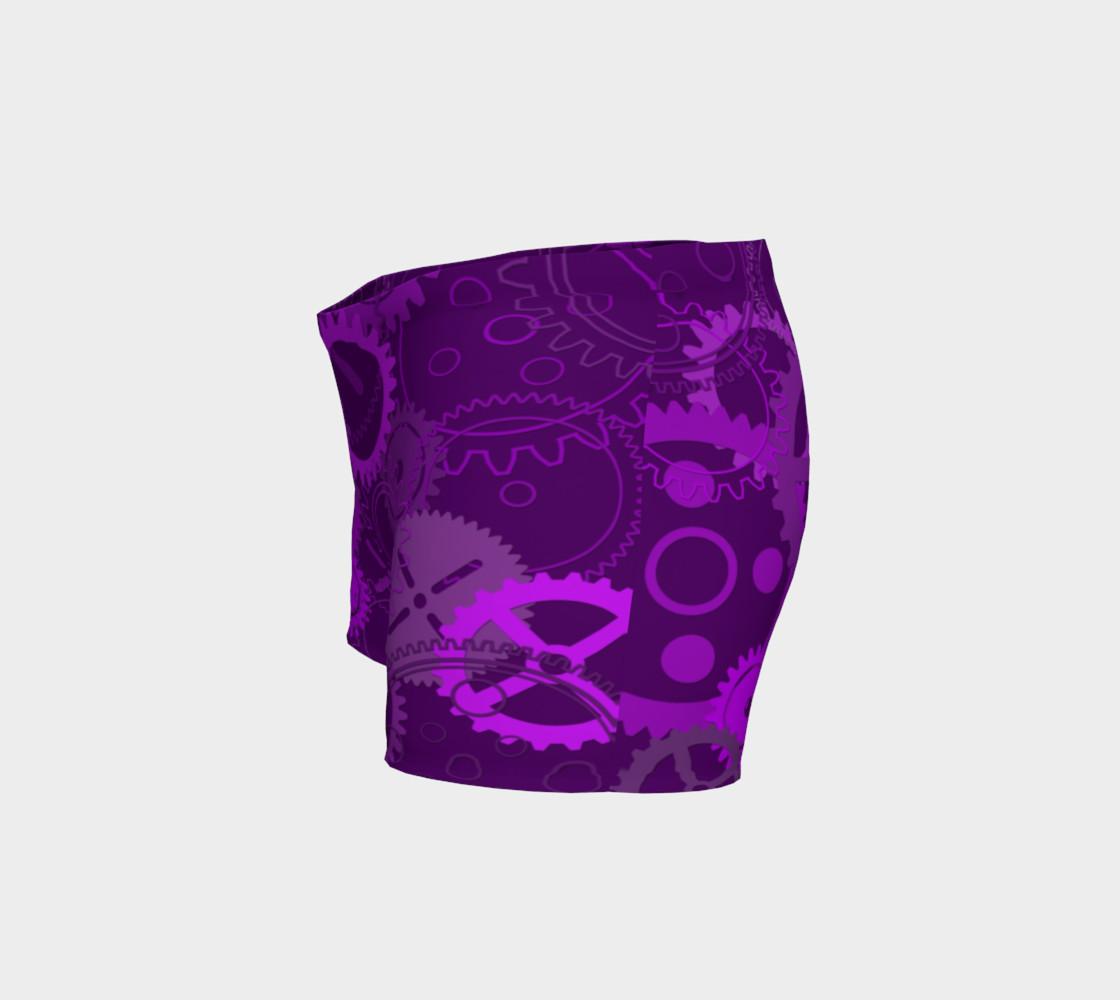 Purple Steampunk Shorts preview #2