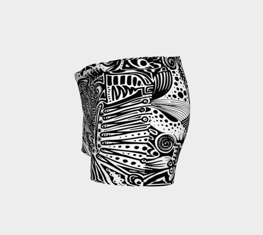 Aperçu de ' Complexité de la vague ' black and white short #2