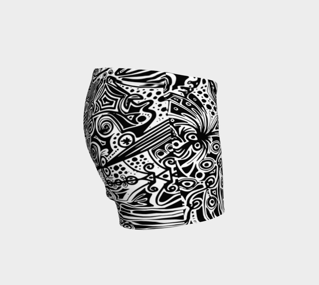 Aperçu de ' Complexité de la vague ' black and white short #3