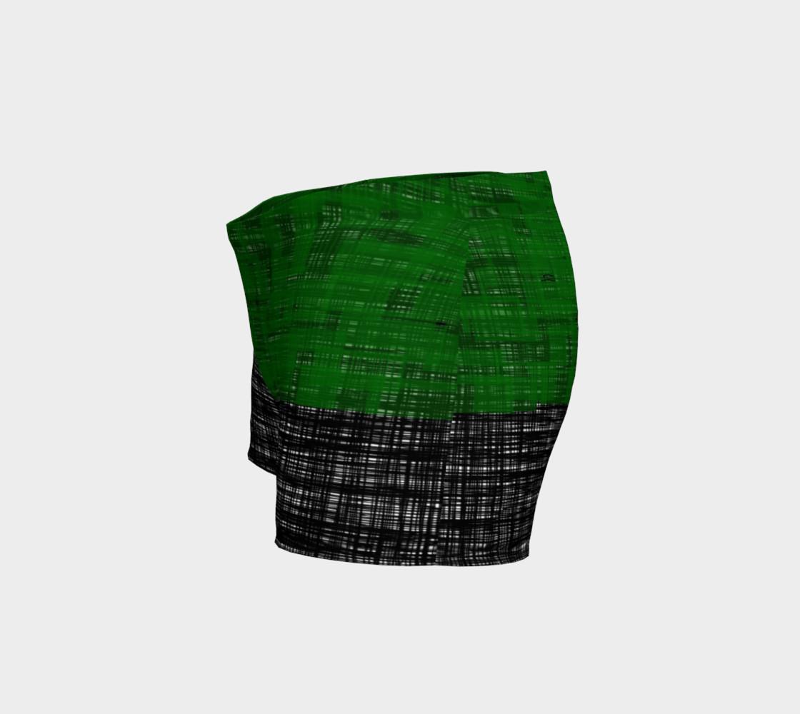 platno (green) workout shorts preview #2