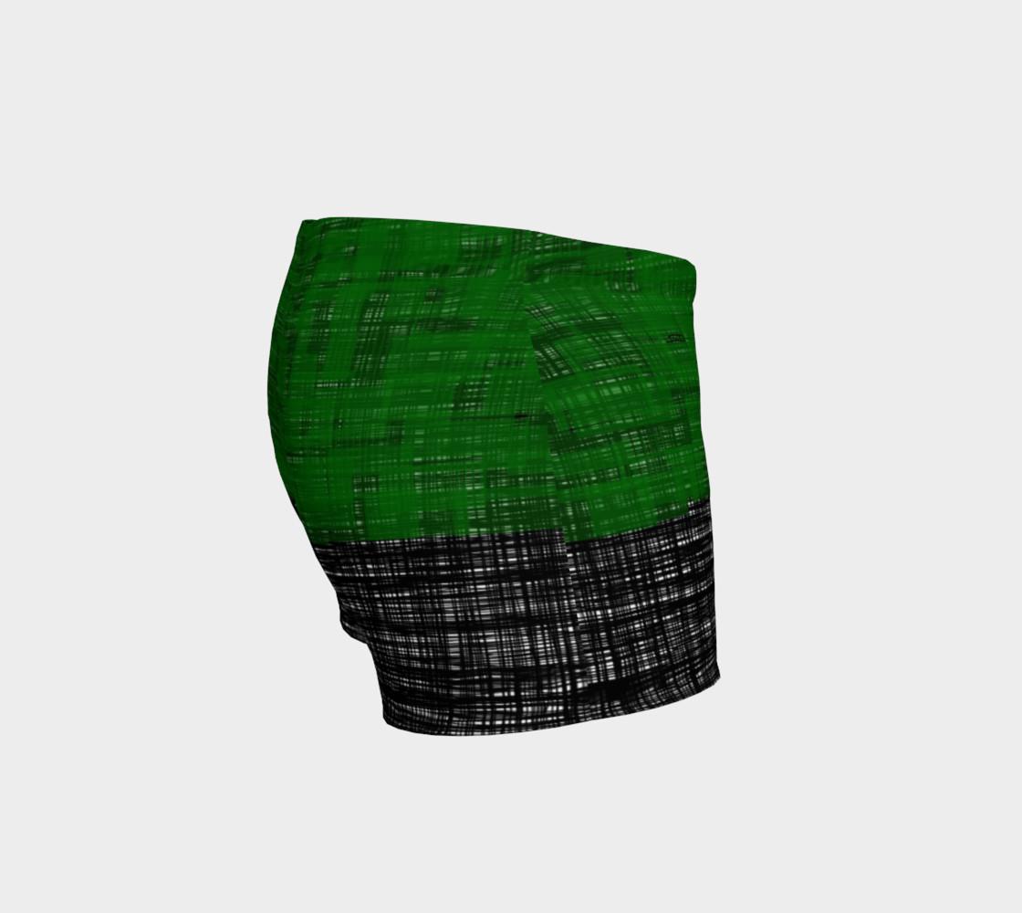 platno (green) workout shorts preview #3