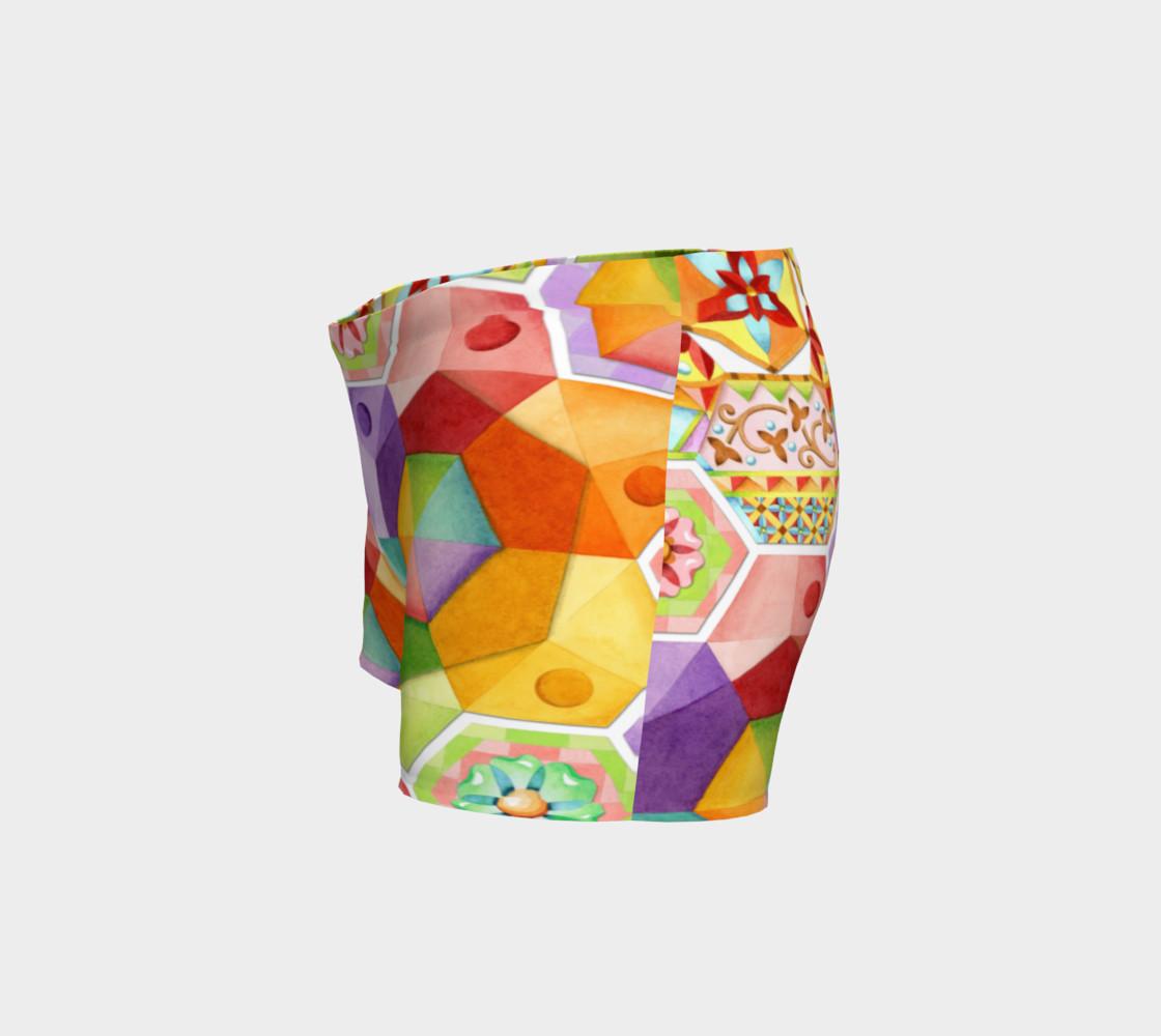 Aperçu de Circus Rainbow Hexagons #2