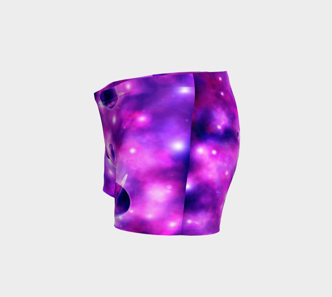 Space Shorts in Purple preview #2