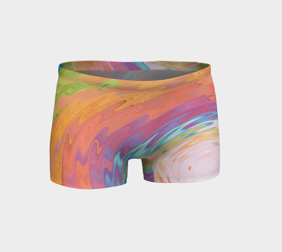 Tie Dye shorts Rainbow shorts preview #1