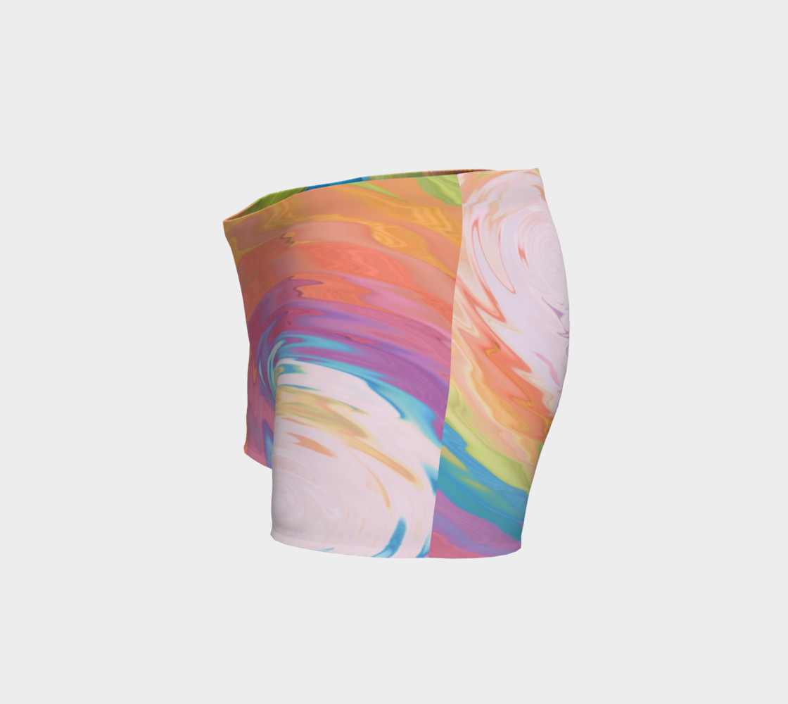 Tie Dye shorts Rainbow shorts preview #2