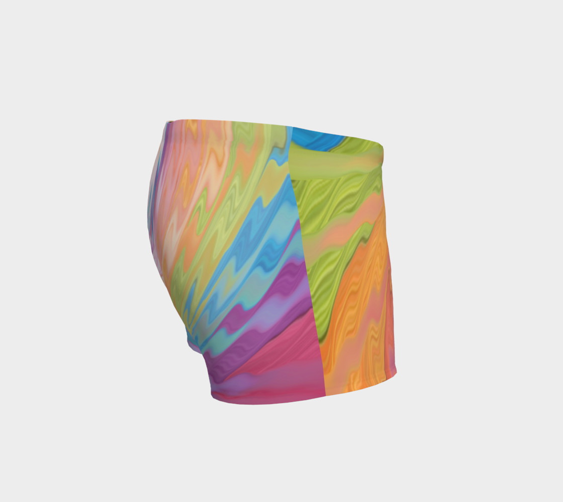 Tie Dye shorts Rainbow shorts preview #3