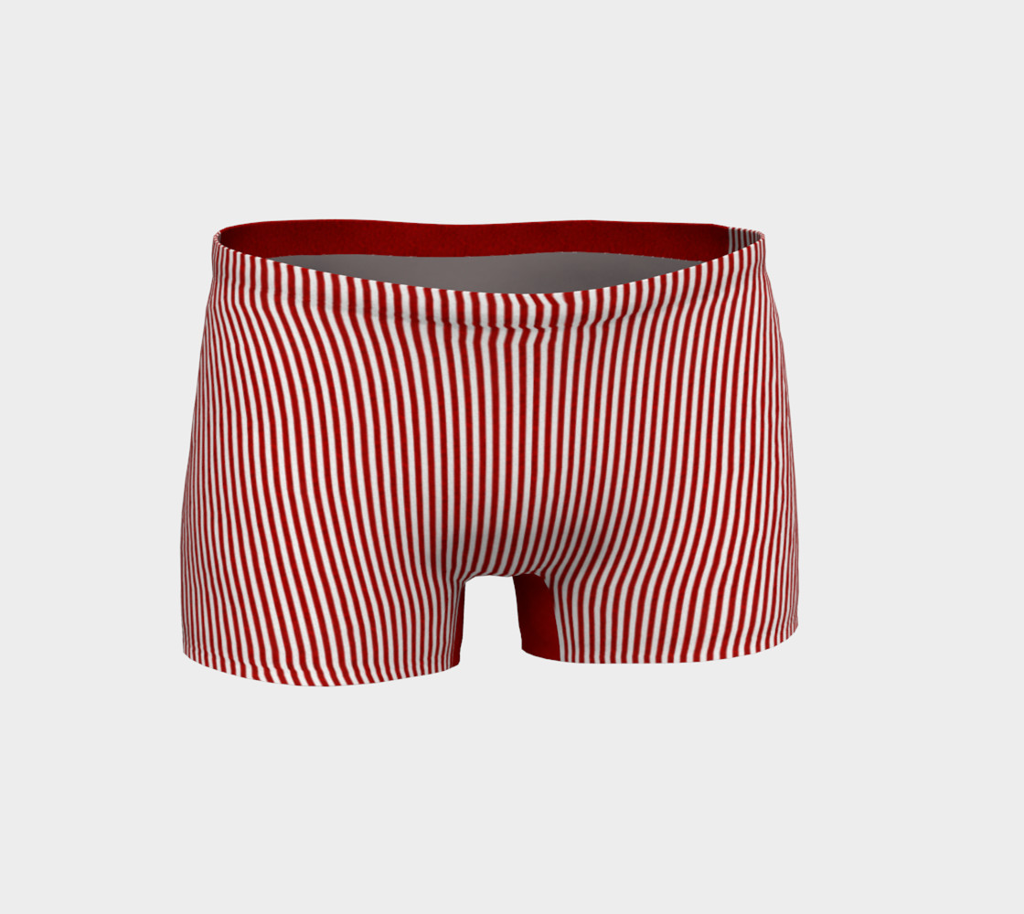 A red striped lace pattern preview #1