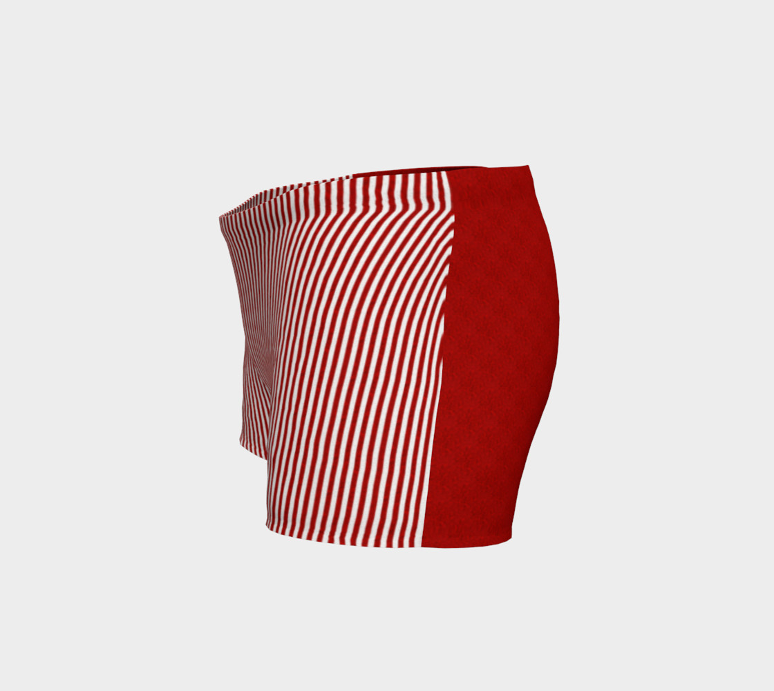 A red striped lace pattern preview #2