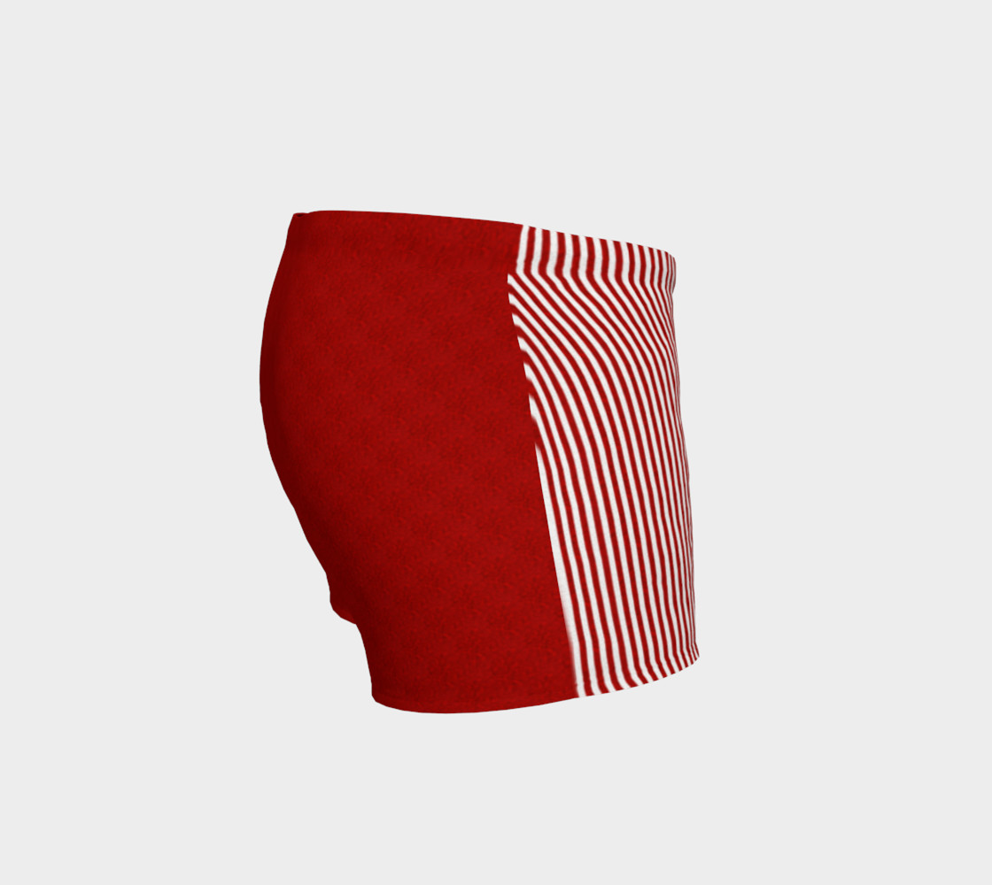 A red striped lace pattern preview #3