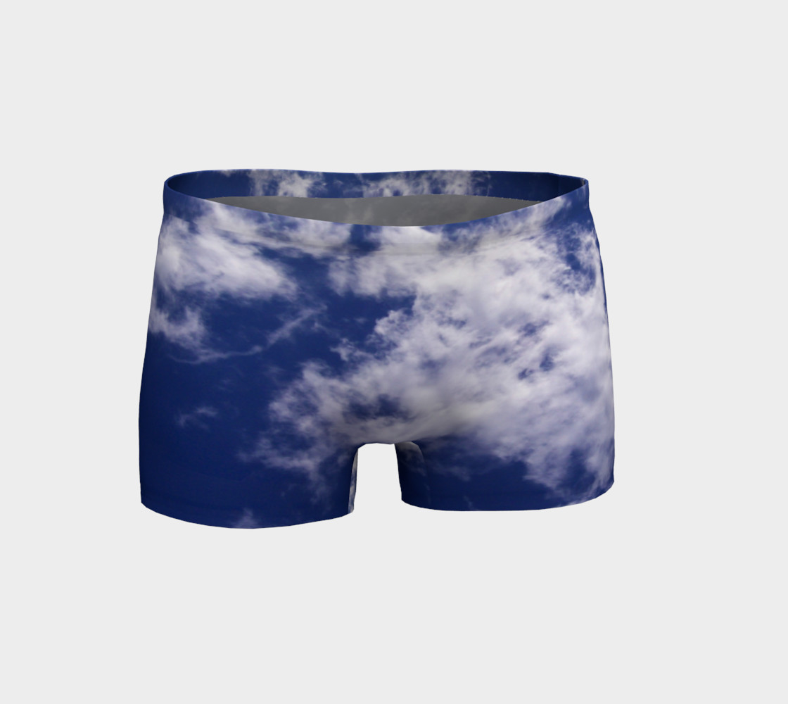Pulled Cotton Clouds Shorts preview #1