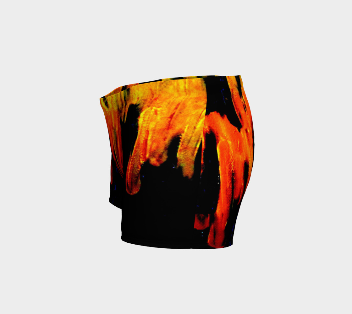 Lava in Black and Orange Shorts preview #2
