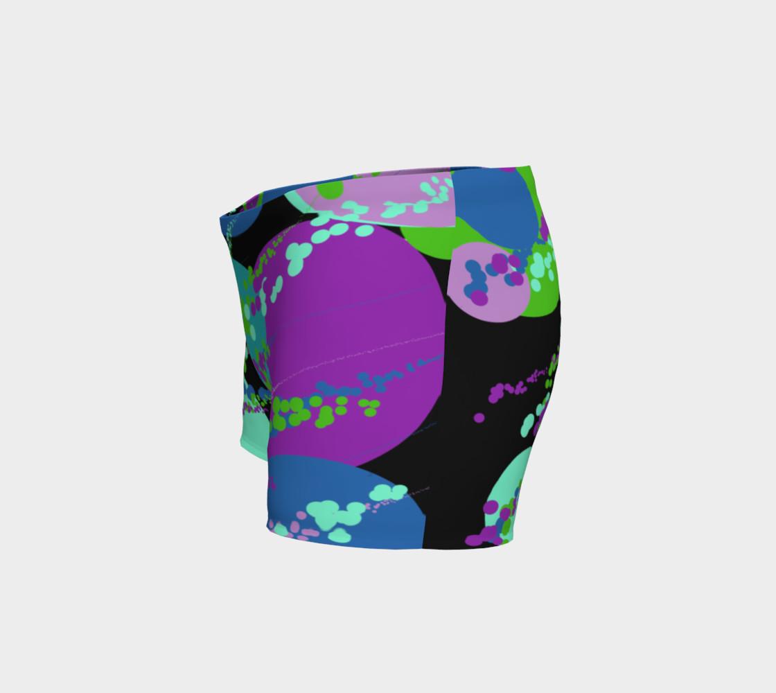 Aperçu de Colorful Circles on Black #2