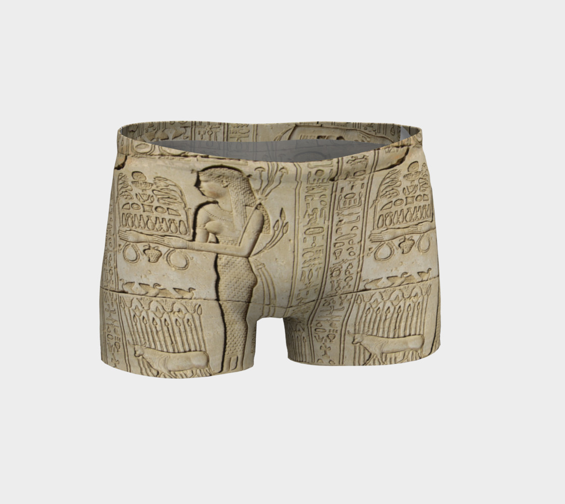 Sistas Stone tablet Shorts preview #1