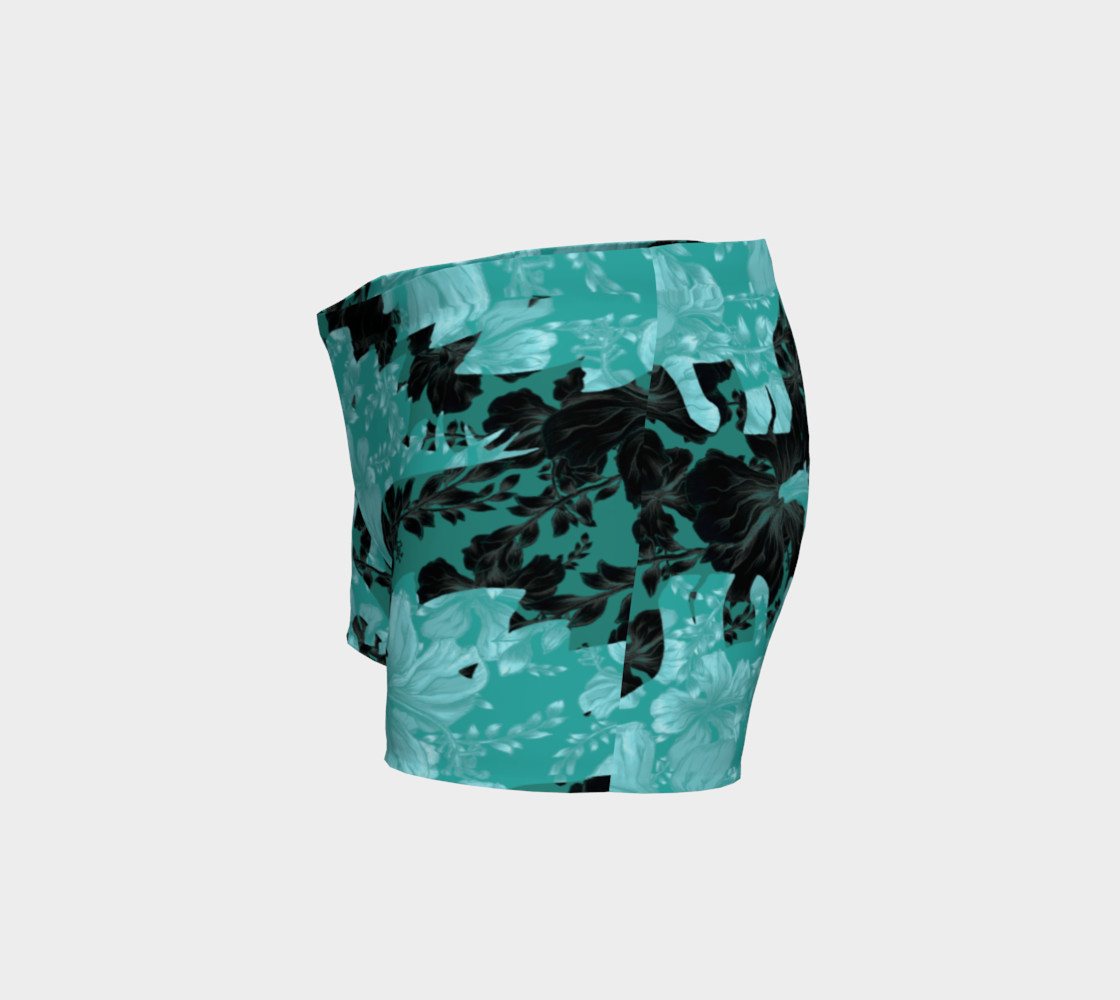 Jurassic Shorts - Teal preview #2