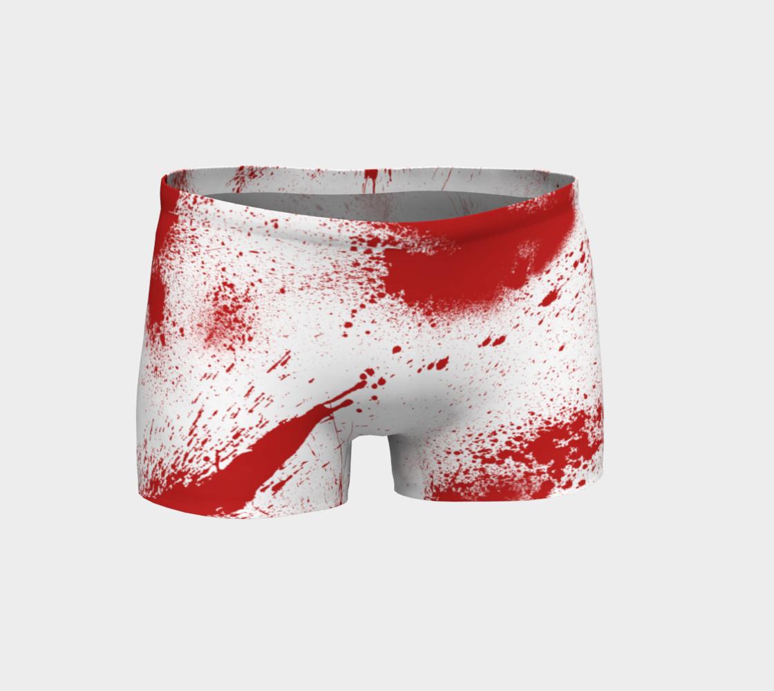 Aperçu de Blood Spatter Shorts #1