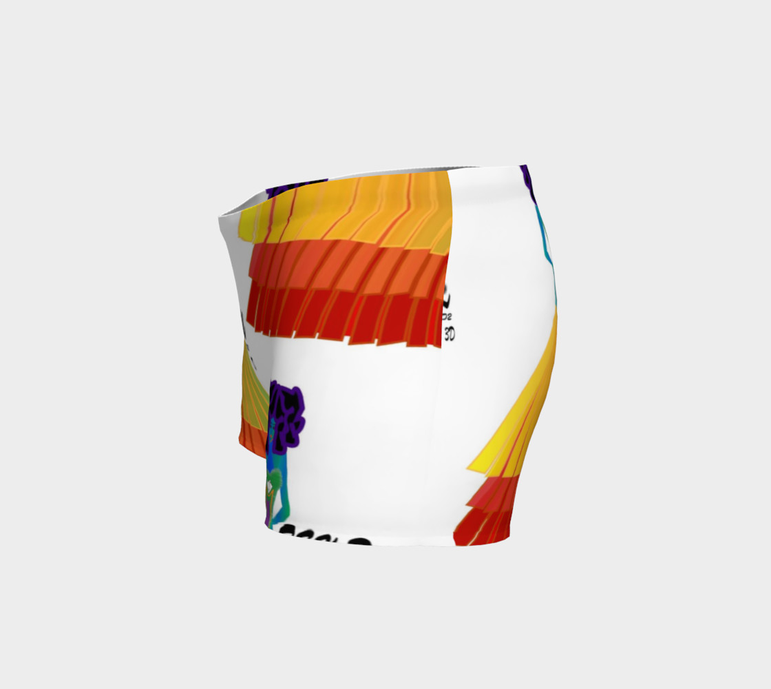 Aperçu de TSX Design House Logo yoga shorts #2