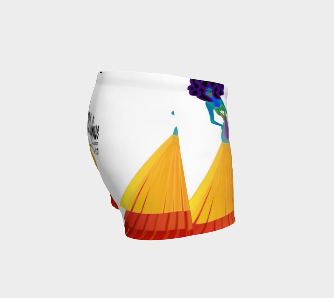 Aperçu de TSX Design House Logo yoga shorts #3