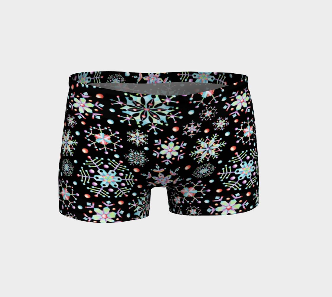 Aperçu de Prismatic Snowflakes Shorts #1