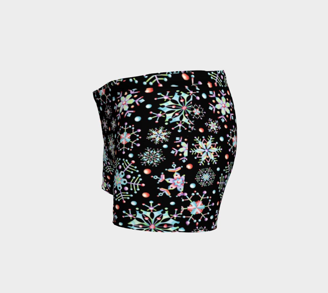 Aperçu de Prismatic Snowflakes Shorts #2