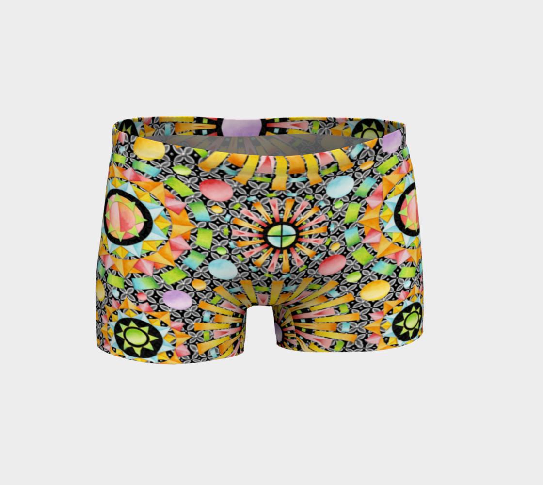 Aperçu de Aurora Geometric Shorts #1