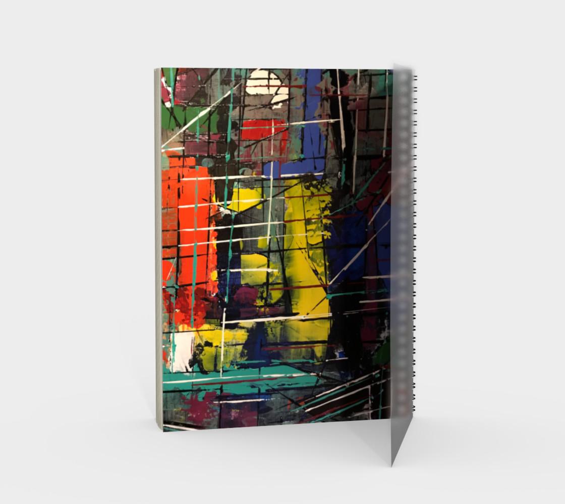Aperçu de Lines Spiral Notebook #2